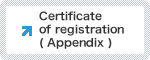 ISO9001 Certificate of registration( Appendix )
