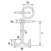 MW (Stainless Steel Mooring)