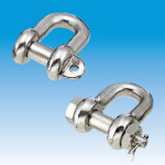 Screw Pin D-shackle, JIS type