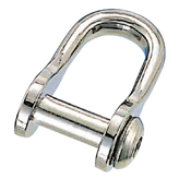 Oval Sink Pin type Half-round D-Shackle