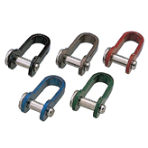 Sheet Shackle, rivet type, colored
