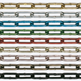 Aluminum Color Chain,Anodized
