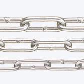 Aluminum Chain,Plain Finish