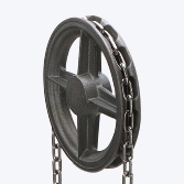 Stainless Steel Link Chain for Wheel