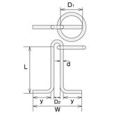 ステンレス 係船環MR型