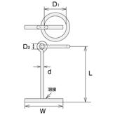 ステンレス 係船環MT型