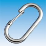 ステンレス O型フック (ロープ用)